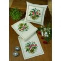 Permin, kit pour coussin Fleurs et muguets (PE83-0342)