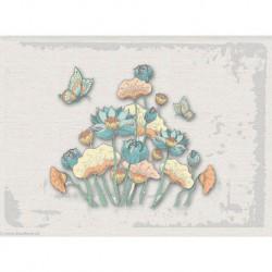 Princesse, kit imprimé Tableau Papillon (PR7604)