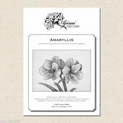 Ajisai, grille Amaryllis (AJA38)