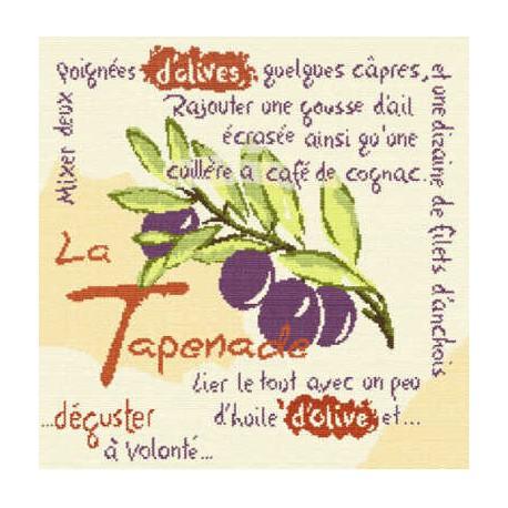 LiliPoints, Grille Provence - La Tapenade (P011)