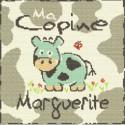 LiliPoints, Grille Enfant - ma copine Marguerite (E001)