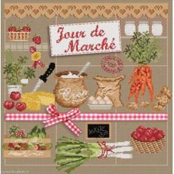 Madame la Fée, grille Jour de marché (FEE053)