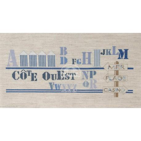 DMC, kit Abécédaire Côté Ouest (DMC-BK1600)