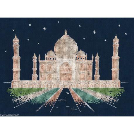 DMC, kit Brillante architecture - Agra la nuit (DMC-BK1726)