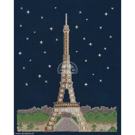 DMC, kit Brillante architecture - Paris la nuit (DMC-BK1725)