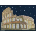 DMC, kit Brillante architecture - Rome la nuit (DMC-BK1727)