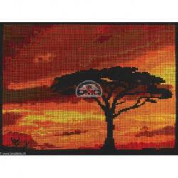 DMC, kit Coucher de soleil sur la savane (DMC-BK1721)