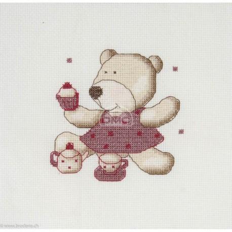 DMC, kit Teddydou à la dinette (DMC-BK1634)