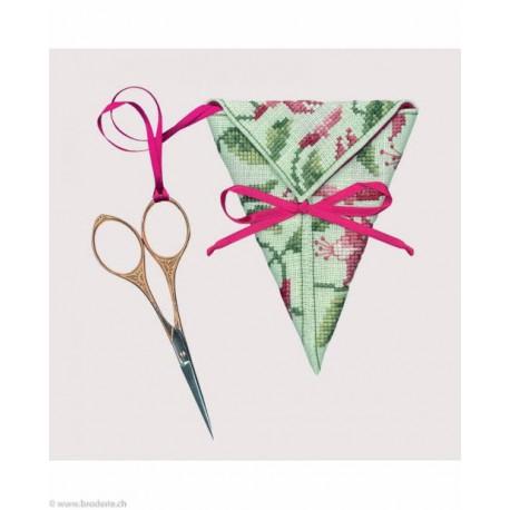 Bonheur des Dames, kit étui à ciseaux Fuchsia (BD3372)