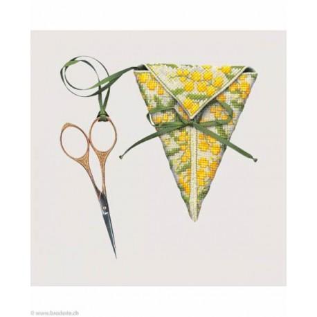 Bonheur des Dames, kit étui à ciseaux Mimosa (BD3371)