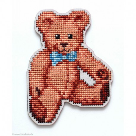 RTO, kit sur bois perforé déco - magnet ours (RTOEHW047)