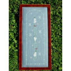 La Sylphide Toquée, grille Bienvenue hiver (AM150)