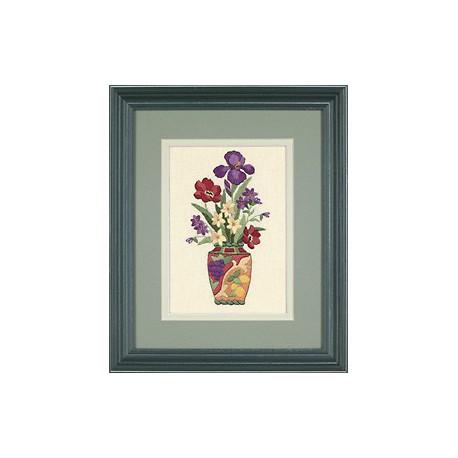Dimensions, kit imprimé Elegant Floral (DIM06230)
