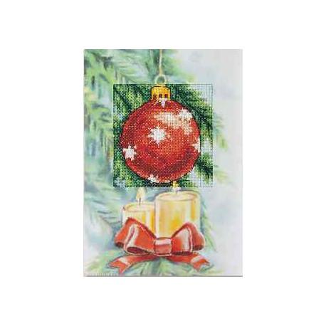 Orchidea, kit Carte de voeux Boule de Noël (OR6244)
