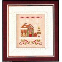 Country Cottage Needleworks, grille Gingerbread Emporium (CCNSV10)