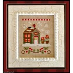 Country Cottage Needleworks, grille Poinsettia Place (CCNSV2)