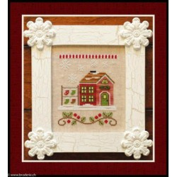 Country Cottage Needleworks, grille Santa's Stocking Store (CCNSV5)