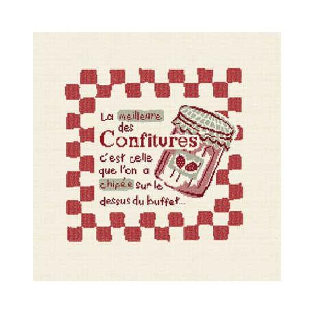 LiliPoints, Grille Gourmandise - La confiture (G004)