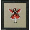 Mirabilia Nora Corbett, grille Miss ladybug - insect (NC260)