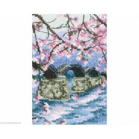"RTO, kit ""Kintai bridge arching over the Nishiki river"" (RTOC309)"