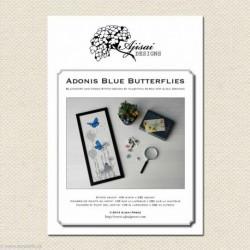Ajisai, grille Adonis Blue Butterflies (AJA22)