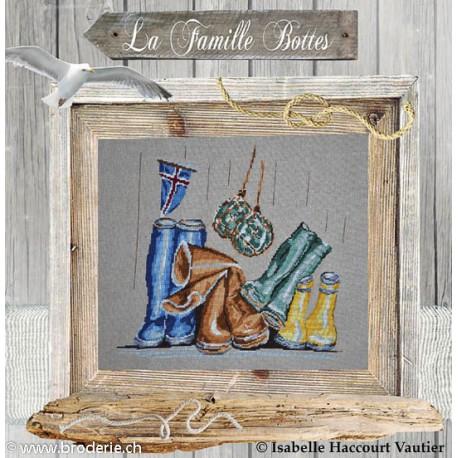 Isabelle Vautier, grille Les Bottes (ISA15)
