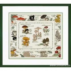 Bonheur des Dames, kit les champignons (BD1193)