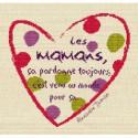 LiliPoints, Grille Fête - fête de mères vif (F001)