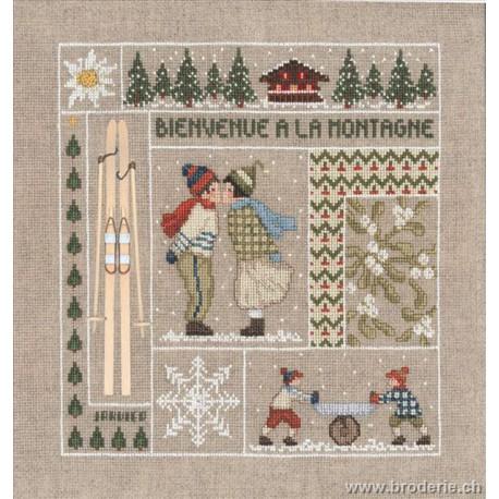 Bonheur des Dames, kit bienvenue janvier (BD2650)