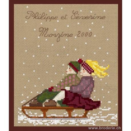 Bonheur des Dames, kit la luge (BD2312)