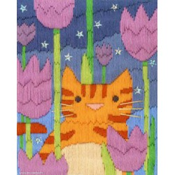 Bothy Threads, kit canevas peint Tiger (BOLSC2)