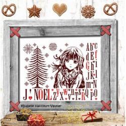 Isabelle Vautier, grille dans la douceur de Noël (RV270)
