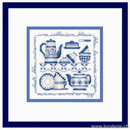 Bonheur des Dames, kit collection bleue (BD2245)