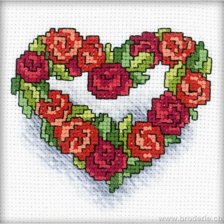 RTO, petit kit Coeur de roses (RTOH121)