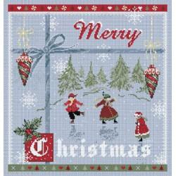 Madame la Fée, grille Merry Christmas (FEE038)