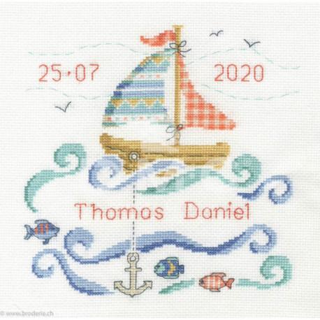 DMC, kit naissance Petit voilier (DMC-BK1877)