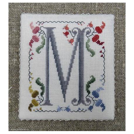 Renato Parolin, grille Flowery letter M (PA25-13)