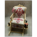 Au Ptit Bonheur, Kit fauteuil avec la grille Francine Zeil (DIV002)