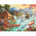 Luca-S Leti Stitch, kit Island Life (SLETI925)