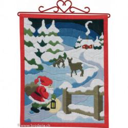 Permin, Kit facile - Père-Noël (PE70-4613)