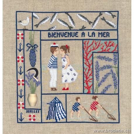 Bonheur des Dames, kit bienvenue juillet (BD2656)