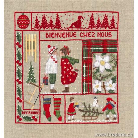 Bonheur des Dames, kit bienvenue décembre (BD2661)