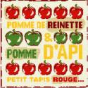 LiliPoints, Grille Enfant - pomme d'api (E011)