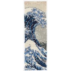 DMC, kit British Museum marque page Hokusai (DMC-BL1146)