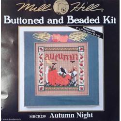 """Mill Hill, kit """"Automn night"""" (MHCB239)"""