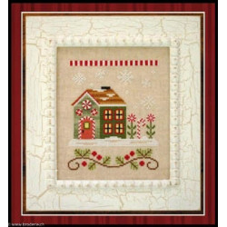 Country Cottage Needleworks, grille Candy Cane Cottage (CCNSV8)