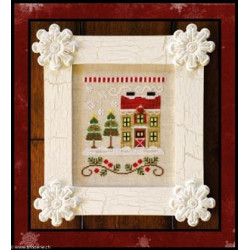 Country Cottage Needleworks, grille Christmas Tree Farm (CCNSV7)