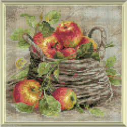 Riolis, kit diamant Basket of Strawberries (RIAM0015)