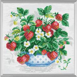 Riolis, kit diamant Basket of Strawberries (RIAM0008)