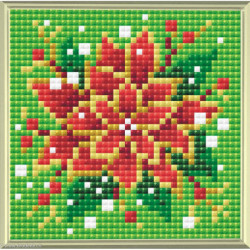 Riolis, kit diamant Poinsettia (RIAM0019)